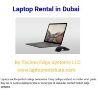 Infographic: Laptop Rental Abu Dhabi - From Techno Edge Systems LLC