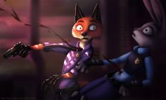 SPEEDPAINT >> www.youtube.com/watch?v=ztCXs7… Thought you guys might like it if I did a follow up of this picture~! >> More Zootopia Fanart >> Please nuu using ...