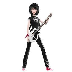 Joan Jett Barbie. I was named after Joan Jett. And subconsciously my style gravitated towards her...