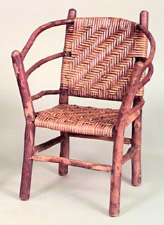 Rustic Old Hickory misc. Old Hickory Furniture, Rustic Furniture, Kids Furniture, Antique Furniture, Outdoor Furniture, Antiques Online, Antiques For Sale, Love Chair, Outdoor Chairs