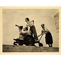 Leni Riefenstahl, Berlin Olympics, 1936