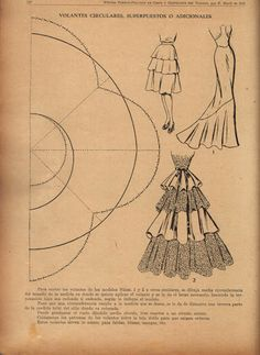 The best DIY projects & DIY ideas and tutorials: sewing, paper craft, DIY. DIY Women's Clothing : MOLDE - costurar com amigas - Picasa Albums Web -Read Sewing Dress, Love Sewing, Sewing Clothes, Doll Clothes, Crochet Clothes, Barbie Patterns, Vintage Sewing Patterns, Clothing Patterns, Shirt Patterns