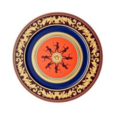 Rosenthal Meets Versace Iconic Heroes Service Plate