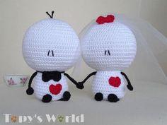 Luty Artes Crochet: Amigurumi do Bigli Migli em crochê Crochet Animal Amigurumi, Crochet Animal Patterns, Stuffed Animal Patterns, Amigurumi Doll, Crochet Gifts, Crochet Toys, Knit Crochet, Double Crochet, Single Crochet