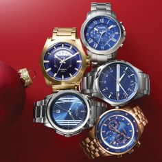 The ultimate finishing touch: stainless steel timepieces