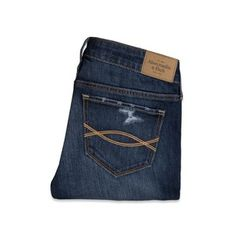 Abercrombie & Fitch Zoe Boot Mid Rise Jeans