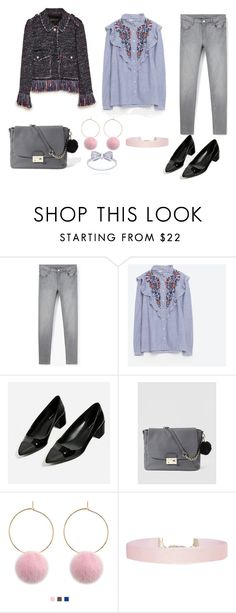 """LOOK DEL DIA"" by aliciagorostiza ❤ liked on Polyvore featuring MANGO, Piel Leather and Humble Chic"