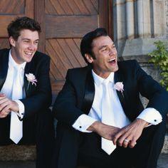 Black Suit White Tie Groom Wedding Google Search