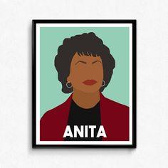 Beatrix Potter Poster Feminist Leaders Portrait  Minimalist Portrait  Print