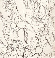 Sketched Floral Cotton Tee | Loft