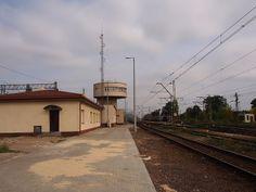 Koluszki railway station   Flickr - Photo Sharing!  [Koluszki, so many visits, and where we had a flat from 1993 to 2013]