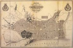 Ildefonso Cerdá - Plan para el ensache de Barcelona (1860)