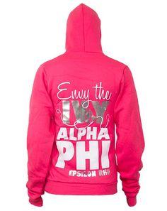 AΦ happy hoodie ;
