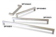 Square Pull - Metal - Drawer Pulls, Knobs & Door Handles