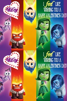 Inside Out Digital Valentines by TheWhiteLilly on Etsy https://www.etsy.com/listing/265810720/inside-out-digital-valentines