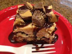 Reese's Peanut Butter Ice Cream Cake