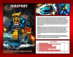 Seaspray by CitizenPayne on DeviantArt