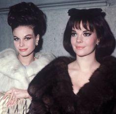 sisters Natalie and Lana Wood  via Foto Landia