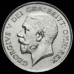 1923 George V Silver Shilling, EF