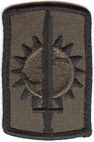 WorldMilitary - 8 Military Police Brigade Patch. US Army
