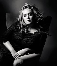 """Adele is a great example of how classy and beautiful a """"plus size"""" woman can be. With a killer voice, many people are not even caring about her size. Our talents should always overshadow our appearance.- gorgeous woman!"""