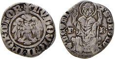 NumisBids: Nomisma Spa Auction 51, Lot 1307 : COMO Franchino I Rusca (1327-1335) Grosso da 12 imperiali – MIR 647...