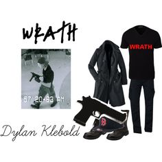 ||Dylan Klebold|| Columbine || by z00eydeschanel on Polyvore featuring art