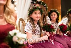 So sweet to see these excited flower girls. 👗Flower Girl Dress Style 402 in burgundy and lace #PegeenFlowerGirl #pegeen #flowergirl #flowergirldress #pegeendotcom #girlsdresses #wedding #kidscouture #princessdresses #weddinginspiration #weddingday #weddinginspo #weddingplanning #pageant #littleprincess #bestflowergirlever #kidsfashion #kidsfashionforall #littlegirldress #newdress #sundaybest #plussizegirl #jewishwedding #familyphotography #pageantdress #reddress #redwedding #ChristmasWedding