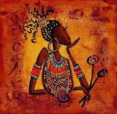 Toile #Art #Afrique