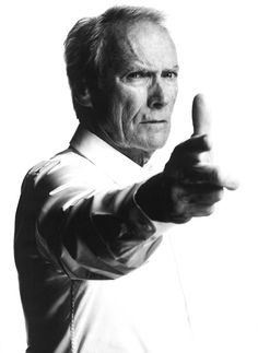 Clint Eastwood; we love him so much we own a piece of leather furniture named for him