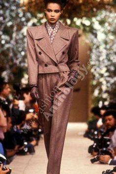 Yves Saint Laurent   Fall 1985