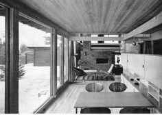atriumshus // are vesterlid Upload Image, Atrium, Household Items, Google Images, Monochrome, Villa, Mid Century, Architecture, Building
