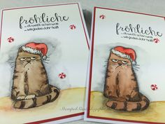 #christmas card #Weihnachtskarte #Katzelkraft