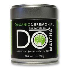 DO matcha green tea organic