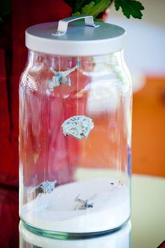 Star Wars centerpiece...I NEED TO MAKE THESE!! ~ Geeky terrarium centerpieces FTW! | Offbeat Bride