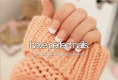 Love doing my nails and taking perfect care of them! Nothing makes me happier!