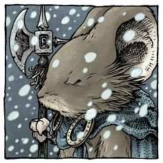 David Petersen's Blog: Mouse Guard Portrait