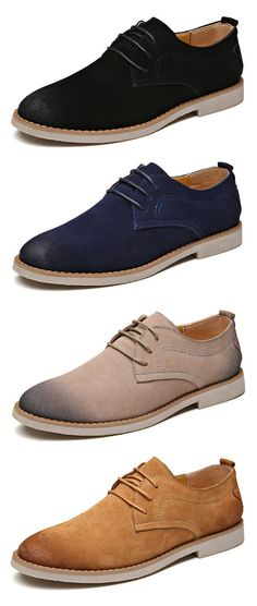 Handmade Leather British style Breathable Lace Up Casual Shoes Business  Schuhe, Stiefelmode Für Herren, 9aa7950656