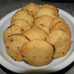 Omlós vajas keksz Recept képpel - Mindmegette.hu - Receptek Snack Recipes, Snacks, Chips, Potatoes, Vegetables, Food, Snack Mix Recipes, Appetizer Recipes, Appetizers
