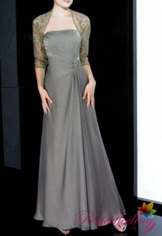 2014 New grey mother of the bride dresses with by PerfectFeeling, $189.00