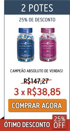 Alfacaps - 2 Potes