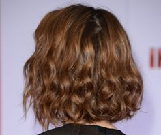 So Perfect for a Midweek Date Night: Rebecca Halls Tousled Wavy Lob