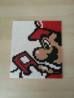 Super Mario perler beads by Nesrin Yilmaz