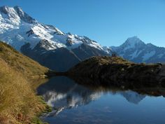 New Zealand New Zealand New Zealand Sealy Tarns - NZ , on the other side of the world, but that won't stop me