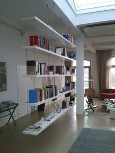 hangende boekenkast