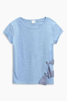 Buy Blue Tie Side Short Sleeve T-Shirt (3-16yrs) from Next Turkey