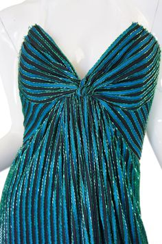 1970s Beaded Bob Mackie Gown image 6