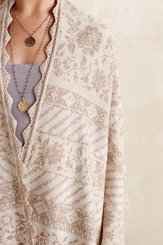 Heirloom Lace Wrap - anthropologie.com