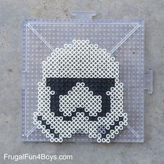 Star Wars The Force Awakens Perler Bead Patterns - Frugal Fun For Boys and Girls
