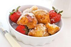 Buñuelos de fresas